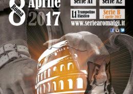 Locandina Serie A Roma 2017